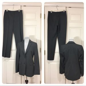 346 Brooks Brothers stretch Gray wool suit